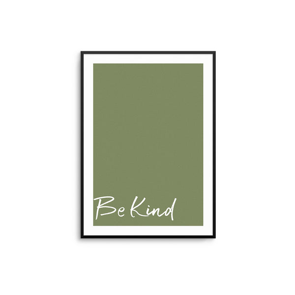 Be Kind - Green