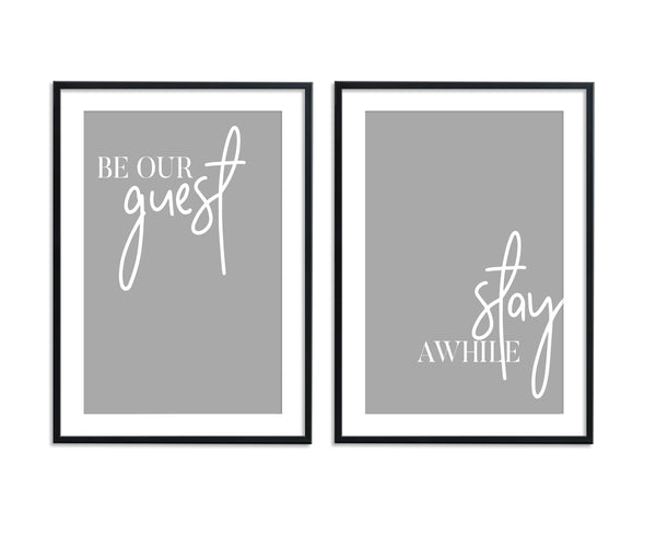 Be Our Guest | Stay Awhile Set II