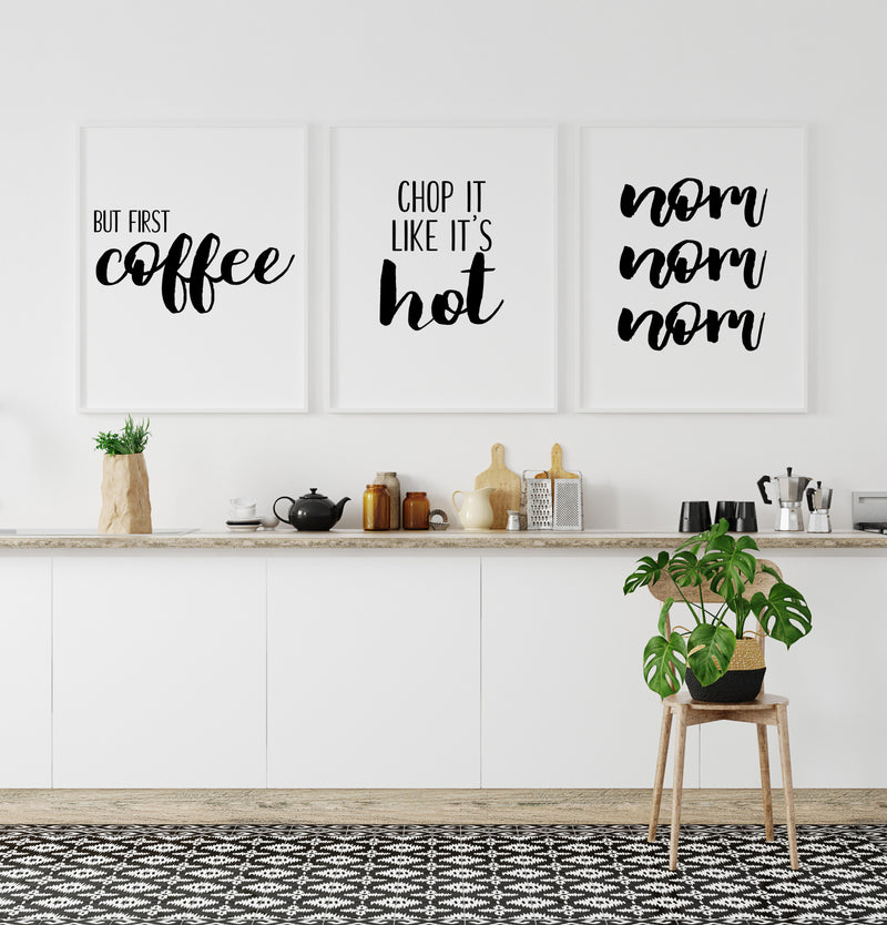 First Coffee | Chop It | Nom Trio Set