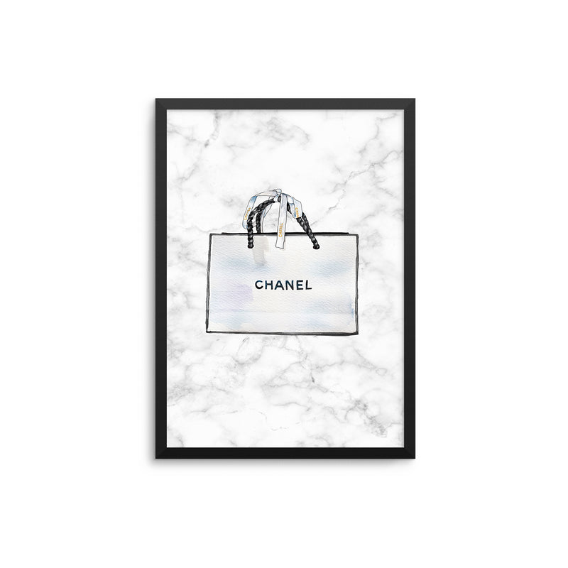 White Shopping Bag