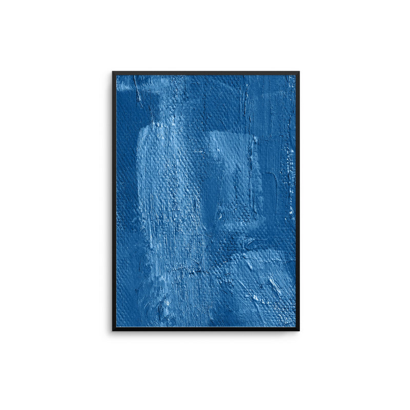 Denim Blue Abstract