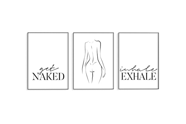 Get Naked | Naked | Inhale Exhale Trio Set