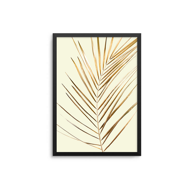 Palm Leaf Gold Stone