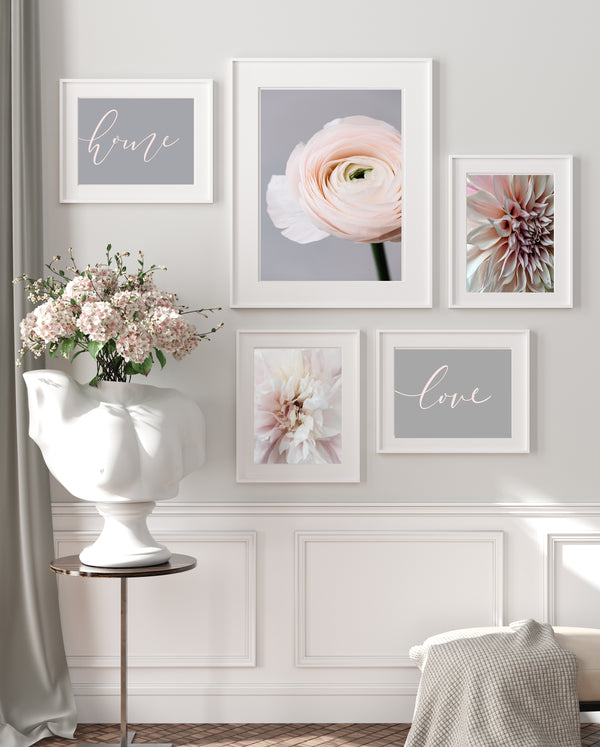 Blush & Grey Gallery Set