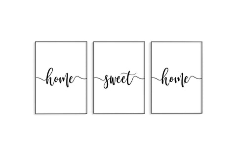 Home Sweet Home II Trio Set