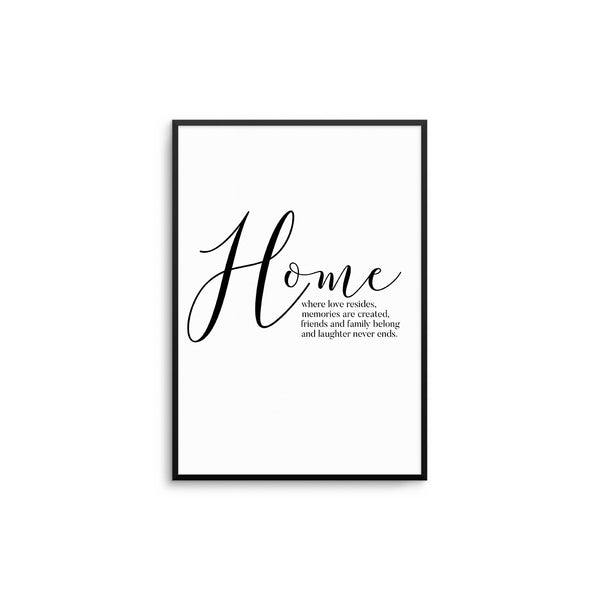 Home - Where Love Resides II