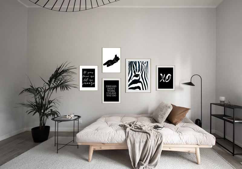 Monochrome Snooze Gallery Set
