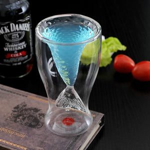 Novelty Creative Crystal Mermaid Cup Glass Mug Vodka Shot Drinking Bar Party Cup