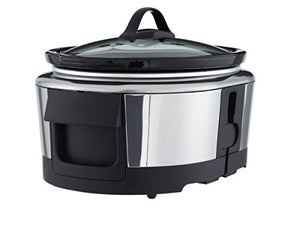 Crock-Pot Wemo Smart Wifi-Enabled Slow Cooker, 6-Quart, Stainless Steel