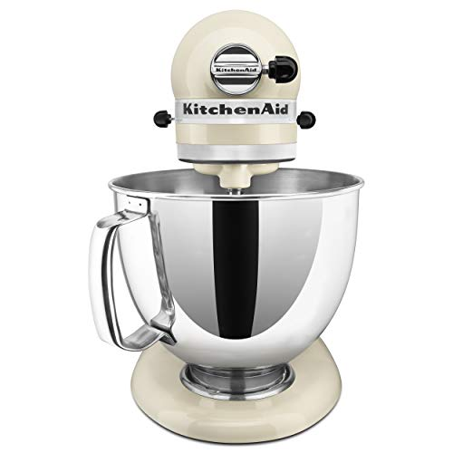 KitchenAid KSM150PSAC Artisan Series 5-Qt. Stand Mixer with Pouring Shield - Almond Cream