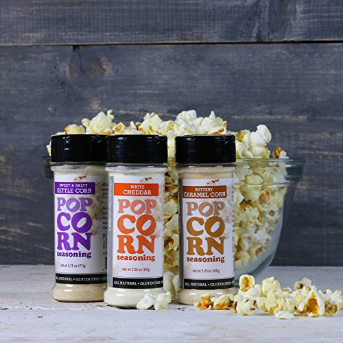 GET POPPIN' Snack Attack for Popcorn Lovers Gift Set, Hostess Gift For Any Occasion - Urban Accents