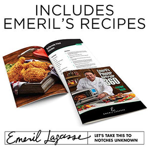 Emeril Lagasse Power Air Fryer Oven 360 | 2020 Model | Special Edition | 9-in-1 Multi Cooker | Free Emeril's Recipe Book Included