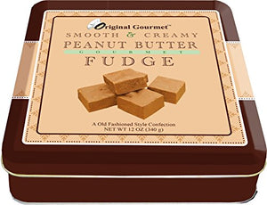 Original Gourmet Peanut Butter Fudge, 12 Ounce