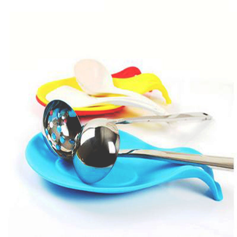 1Pc Silicone Spoon Place mat