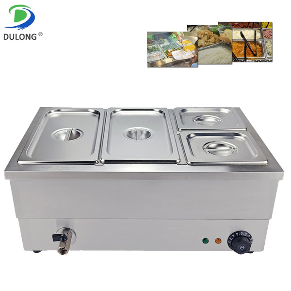 Commercial Use 4 Tank Food Warmer - Diamond Events and Catering