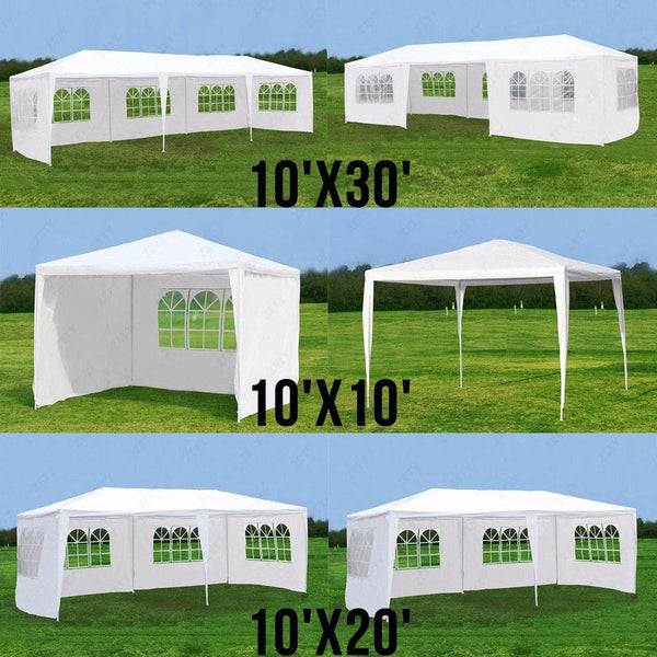10'x10'/20'/30' Outdoor Tent - Diamond Events and Catering