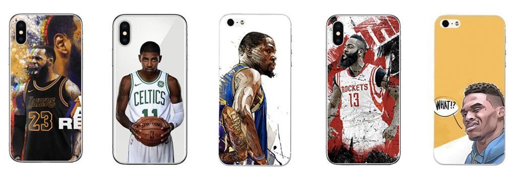 Coques NBA pour iPhone