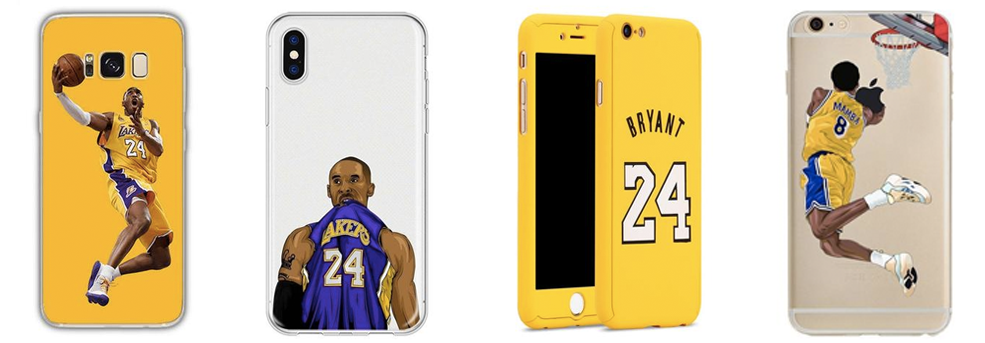 Coque Kobe Bryant Lakers pour iPhone, Samsung et Huawei