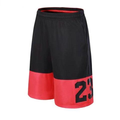 Short de basket Michael Jordan n°23 rouge