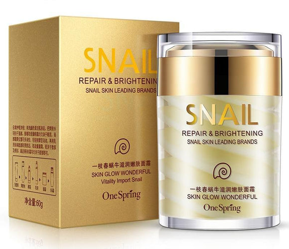 Natural Snail Whitening Ageless Anti Wrinkles Lifting Firming