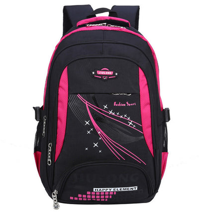 Backpack school bags for teenagers boys girls