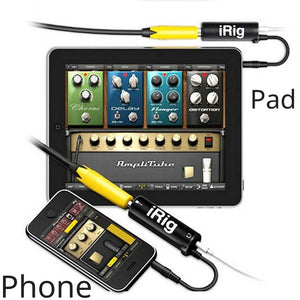 iPhone Smart guitar interface converter