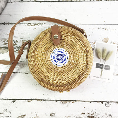 Summer Vintage Handmade  Small bag Bohemian Shoulder bag