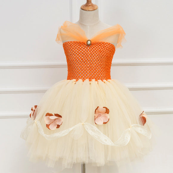 Moana Tutu Dress Costume For Girls Birthday Party