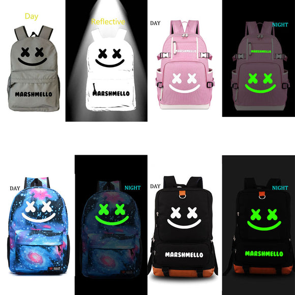 Marshmello school bag DJ backpack