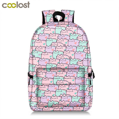 Backpack i am Unicorn Cartoon Panda for Teenager Girls