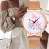 Unicorn Fashion Watches Gold Steel