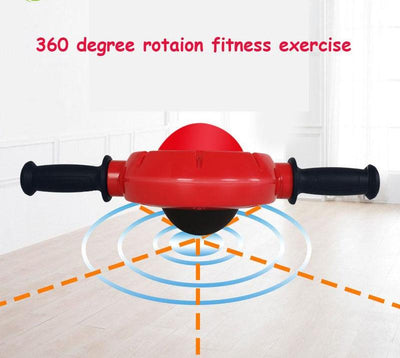 Abs roller muscle trainer 360 Degree Rotation