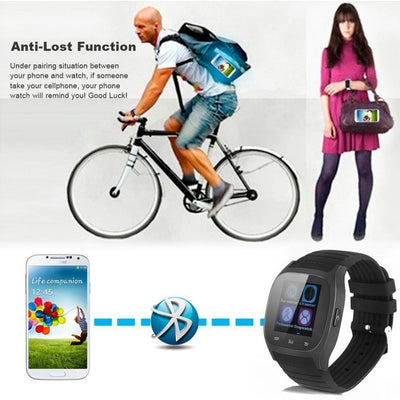 Bluetooth Smart Watch SMS Call Passometer,Message Reminder,Call Reminder,Answer Call,