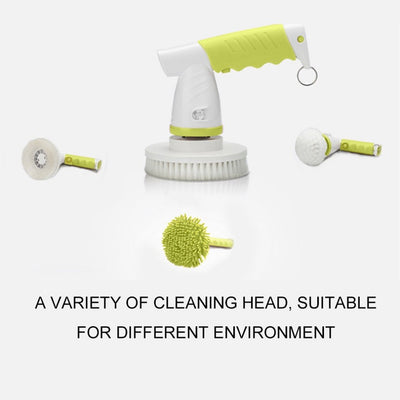 Electric Charging  Brush Adjustable 360 Rotating Automatic Mop