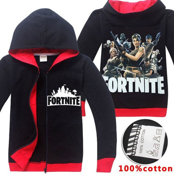 Long Sleeve Fortnite Hoodies Clothing