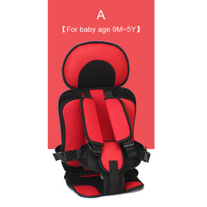 Portable Children's Baby Safety Seat