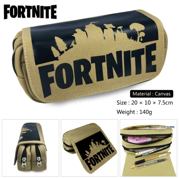Fortnite Pencil  Case Kid School Stationery