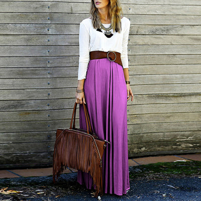 Bฺoho Long Maxi Skirt