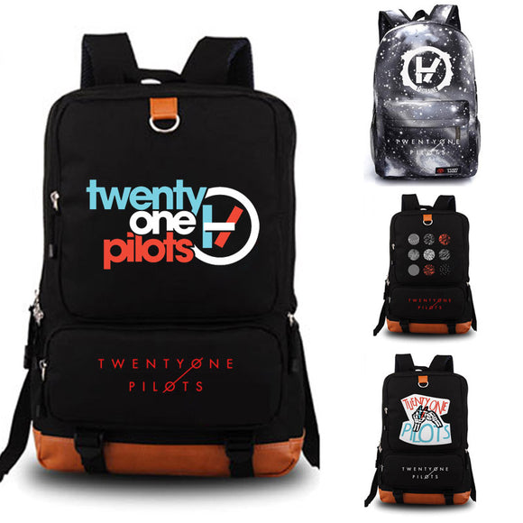 Twenty One Pilots Backpack school bag