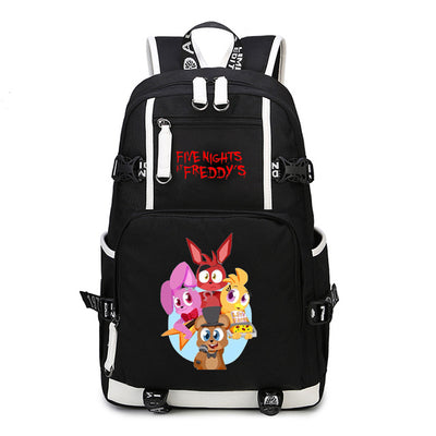 Five Nights At Freddy's Backpack Chica Foxy Bonnie