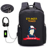 Stranger Things USB Charge Anti Theft Backpack