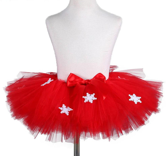 Christmas TulleTutu Skirt Puffy