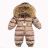 Newborn Baby Winter Snowsuit