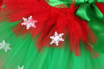 Christmas Girl Tutu Dress