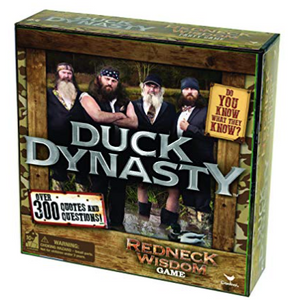 Duck Dynasty Redneck Wisdom Board Game