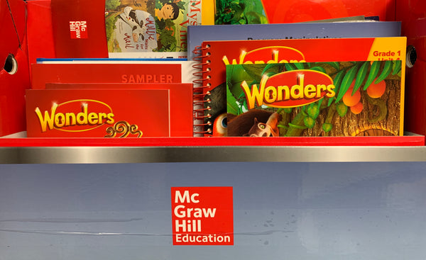 McGraw Hill Grade 1 Reading Wonders Workshop Set- Open Box