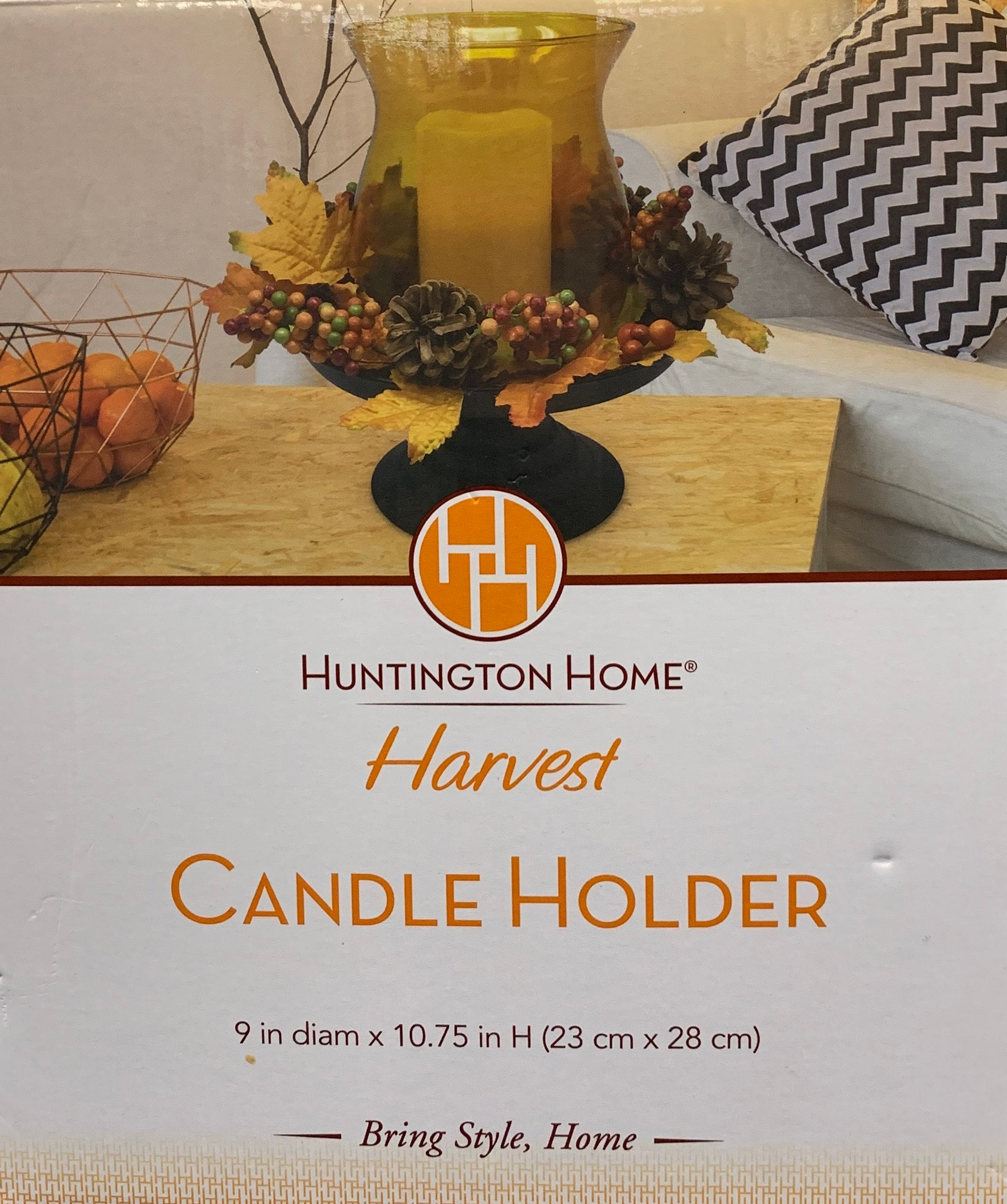 Huntington Home Harvest Candle Holder