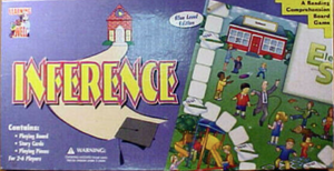 Blue Level Inference A Reading Comprehension Board Game