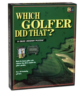 Buffalo Games Which Golfer Did That? Trivia Quiz Jigsaw Puzzle