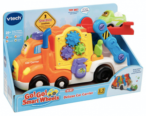 VTech Go! Go! Smart Wheels Deluxe Car Carrier and Music Toys
